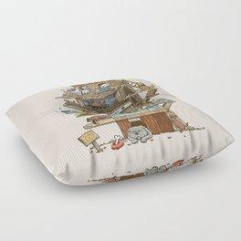 The Dog House Floor Pillow