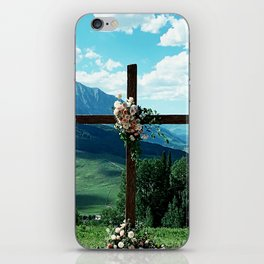 Behold Majestic Beauty and Grace iPhone Skin