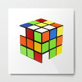 Rubik Metal Print