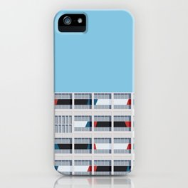 S03-1 - Facade Le Corbusier iPhone Case