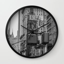 E57st (Ilford FP4) Wall Clock
