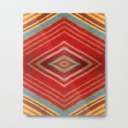 Kaleidoscopic Fall Metal Print