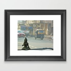 Gods are where you find them Framed Art Print