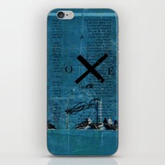 TIME OUT 58 iPhone & iPod Skin