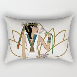 Lotus Dancer Rectangular Pillow