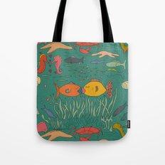 Fishy Kisses Tote Bag