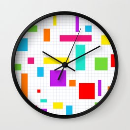 Pattern161 Wall Clock