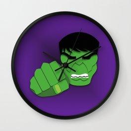 Hulk Smash! Wall Clock