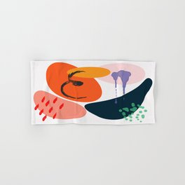 Abstract-painting Hand & Bath Towel