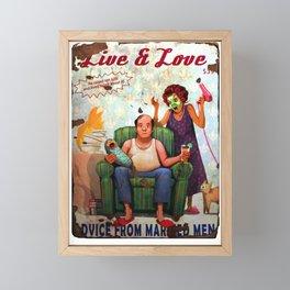 Fallout 76 Screenshot. Live and Love magazine. Framed Mini Art Print