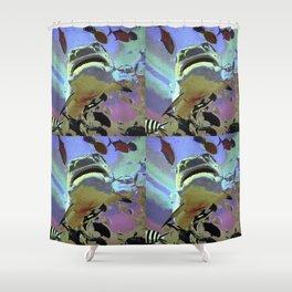 Wondrous Seas Shower Curtain