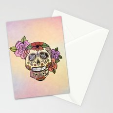 Sweet Sugar Skull Stationery Cards