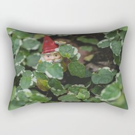 Peek-a-boo Gnome Rectangular Pillow