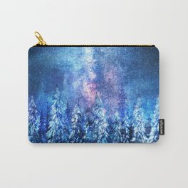 Forest under the Starlight Carry-All Pouch