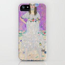 """Gustav Klimt """"Mäda Primavesi"""" iPhone Case"""
