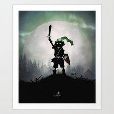 Link Kid Art Print