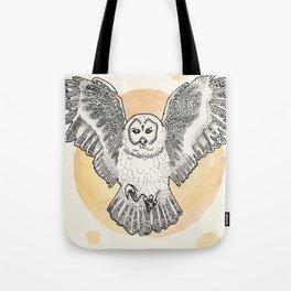 Owl Be Back Tote Bag