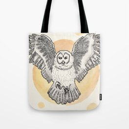 Owl Be Back Tote Bag