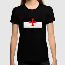 Knights Templar Flag T-shirt