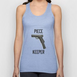 9mm Extended Clip Piece Keeper Unisex Tank Top
