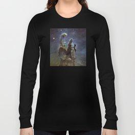 Pillars of Creation (Eagle Nebula) Long Sleeve T-shirt