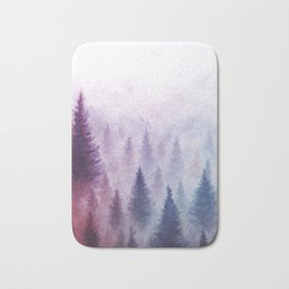 Ombre Woods Bath Mat