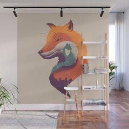 Foxy Breeze Wall Mural