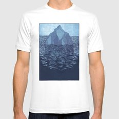Iceberg White Mens Fitted Tee MEDIUM