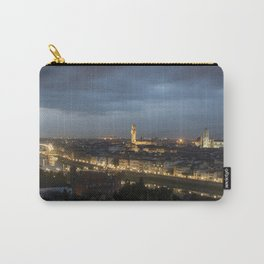 Italy at night Carry-All Pouch