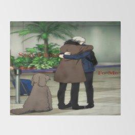 Stay Close To Me - Yuri On ice Throw Blanket