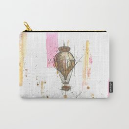 Litte Royals Series- Hot Air Balloon 1.  Carry-All Pouch