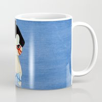 honda Mugs featuring A Boy - E. Honda by Christophe Chiozzi