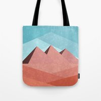 egypt Tote Bags featuring Egypt by Imagonarium