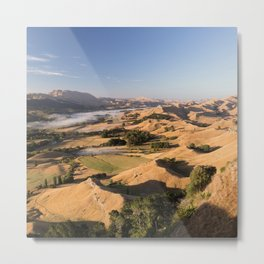 Moutain blue sky Metal Print