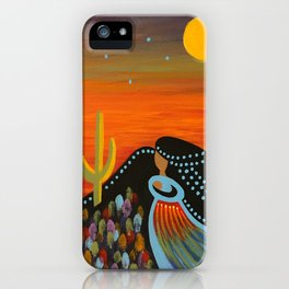 Desert Mother iPhone Case