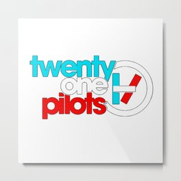 21 pilots color Metal Print