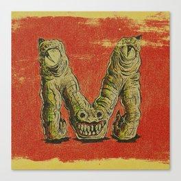 Monster M Canvas Print