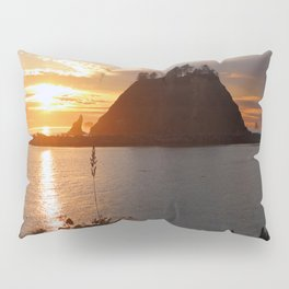 An Amazing Sunset Over First Beach Pillow Sham