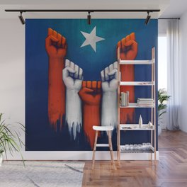 Puerto Rico power of the people Wall Mural