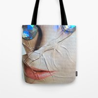 gem Tote Bags featuring GEM by ALEX WAS HERE