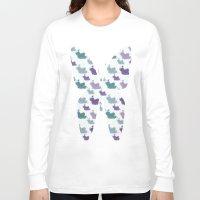 iris Long Sleeve T-shirts featuring Iris by Zen and Chic
