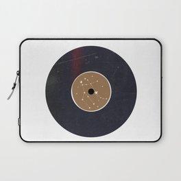 Vinyl Record Star Sign Art | Gemini Laptop Sleeve