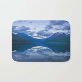 Bowman Lake Bath Mat