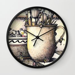 Still life Wall Clock