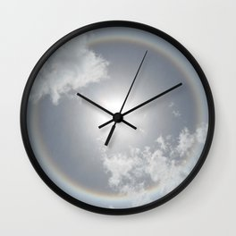 Sun Halo Wall Clock