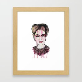 Ruby Mommy Dearest  Framed Art Print