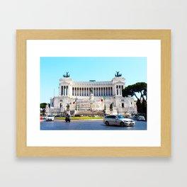 'IL VITTORIANO' (ROMA Series) Framed Art Print