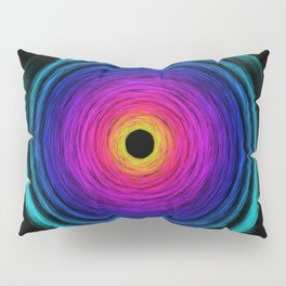 Rainbow Tornado Pillow Sham