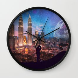 The Light Of Her Life, The Moon Of His Wall Clock