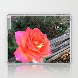 Rose On a fence Laptop & iPad Skin
